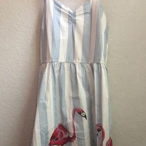 Dresses & Skirts - Adorable summer flamingo sun dress!